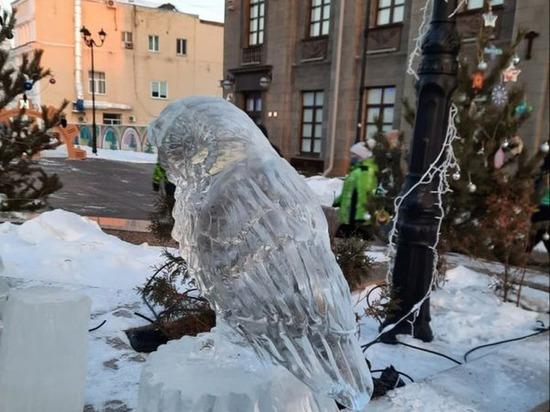 Сегодня ночью в Омске мороз дошёл до -38 градусов