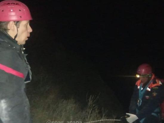 Турист застрял на склоне горы Лысой в ночь на 2 января