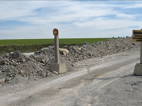 В Омской области ГИБДД закрыла границу с Казахстаном из-за морозов
