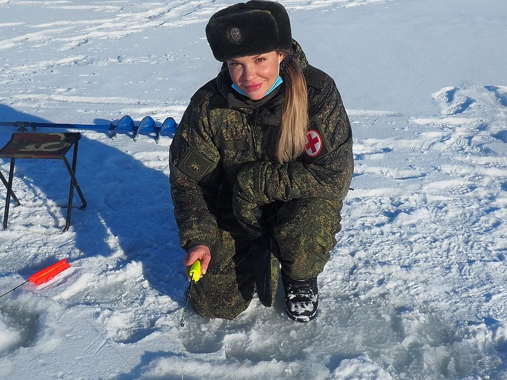 На Сахалине прошли соревнования по подледной рыбалке