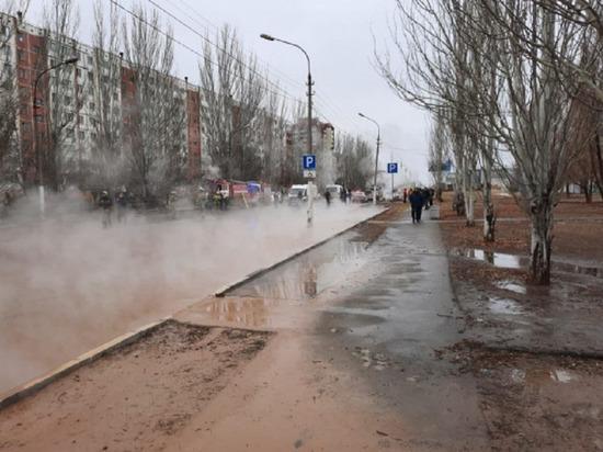 В Волжском из-за порыва трубы пострадали два человека