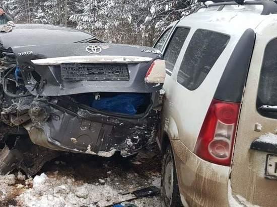 В Кировской области на трассе на Советск в ДТП травмированы 5 человек