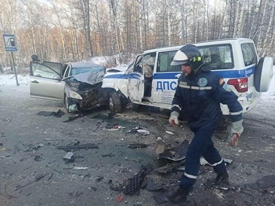 В Челябинской области на трассе М-5 в ДТП попал автобус с детьми