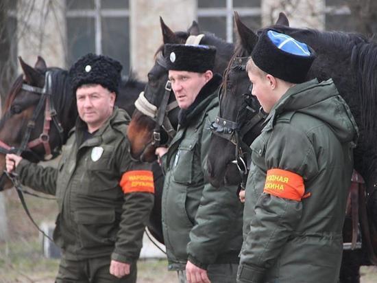 Рождественское благополучие на Ставрополье будут охранять казаки