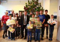 Рождественские подарки привезли в детдом в Ессентуках