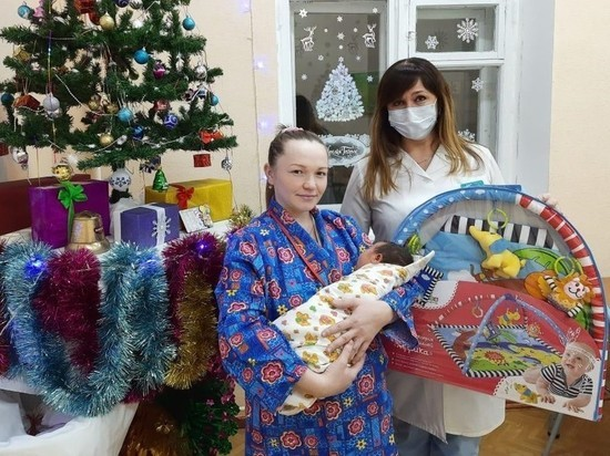В Йошкар-Оле первого ребенка 2021 года выписали из роддома