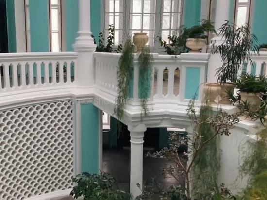 В Марий Эл завершили реставрацию зимнего сада замка Шереметева