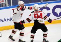 В матче-триллере омские хоккеисты переиграли «Салават Юлаев»
