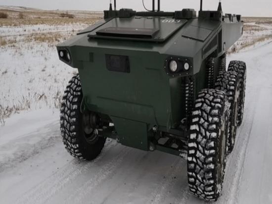 Новую робототехническую платформу «Маркер» протестировали в лесу Челябинской области