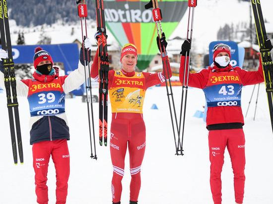 Россияне блистают на «Тур де Ски»: семеро наших лыжников вошли в первую десятку