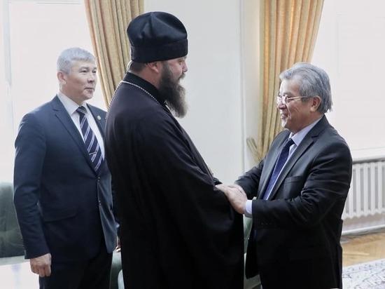 Епископ Даниил встретился с руководителем аппарата президента КР