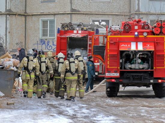 """Стали известны подробности пожара в супермаркете """"Микей"""" в Смоленске"""