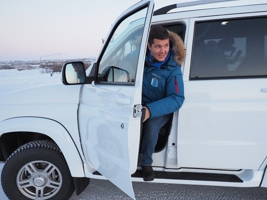 Губернатор Ямала проверил зимник до Катравожа
