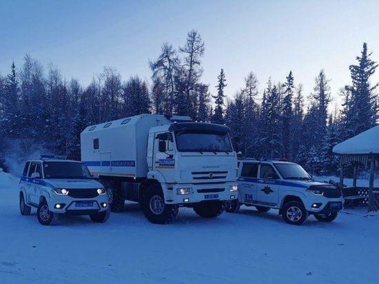Передвижные посты ДПС в Якутии вызволили двух водителей из аварийных ситуаций