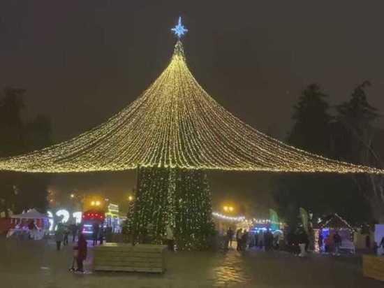 Губернатор Ставрополья восхитился красотой рождественского Пятигорска