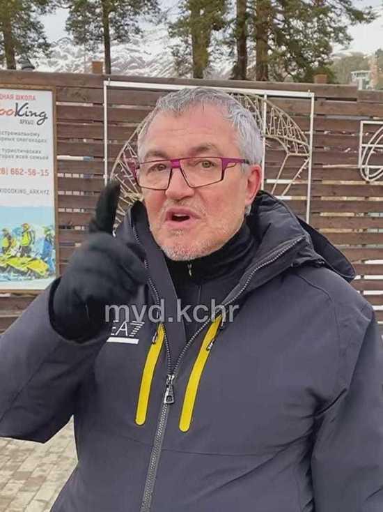 Дмитрий Дибров поблагодарил полицию Карачаево-Черкесии