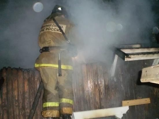 Ночью в Ивановской области тушили пожары