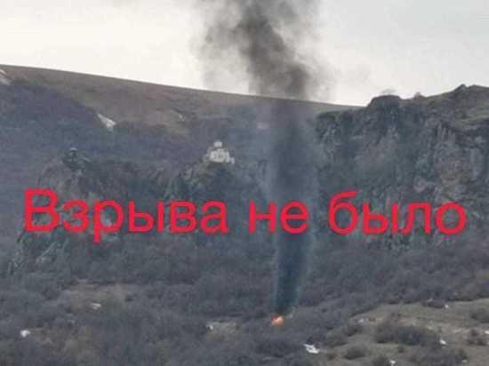 В МВД КЧР пояснили информацию о «взорвавшемся с людьми» микроавтобусе