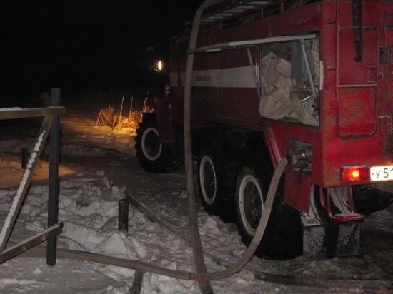 Новогодняя гирлянда чуть не спалила дом многодетной семьи под Омском