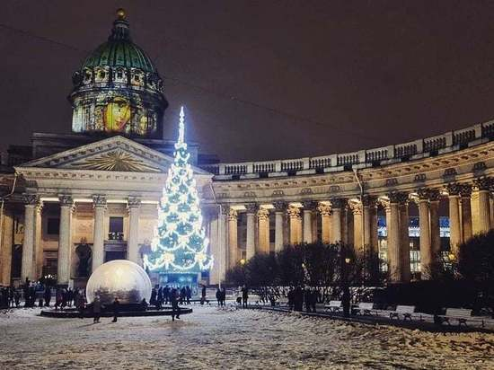 Зимняя идиллия продлится в Петербурге до конца праздников