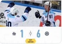 В подмосковных Мытищах в четверг, 7 января, состоялся очередной хоккейный матч КХЛ с участием ХК «Сибирь»