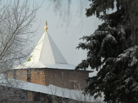 Снегопад надвигается на Нижний Новгород