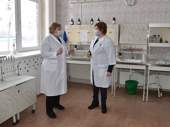 8 января глава администрации Елена Сорокина посетила Водоканал Рязани