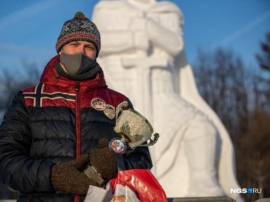 8 января смоляне победили в фестивале снежных скульптур в Новосибирске