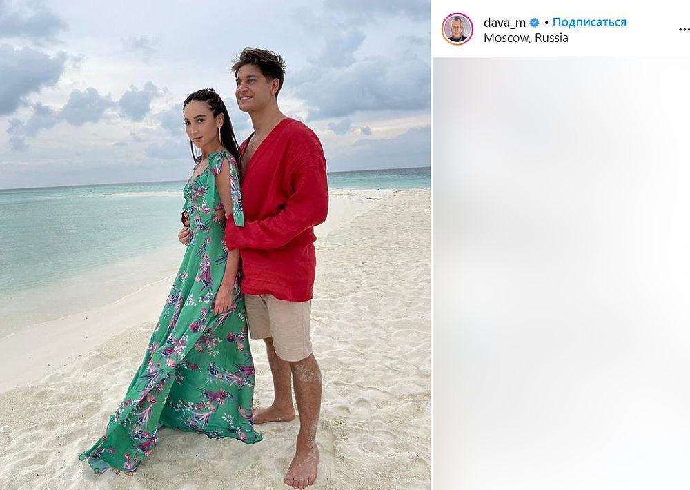 Ольга Бузова и Давид Манукян поженились на Мальдивах: фото счастливой пары
