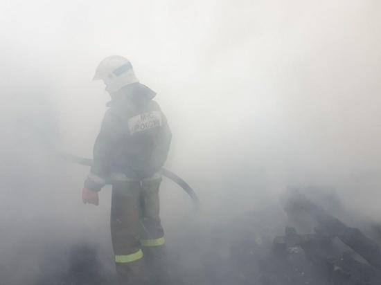 """Большая """"заброшка"""" - бывшая школа, сгорела в Ивановской области"""