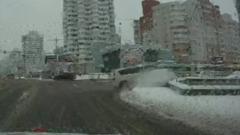В Минске внедорожник влетел в подземный переход