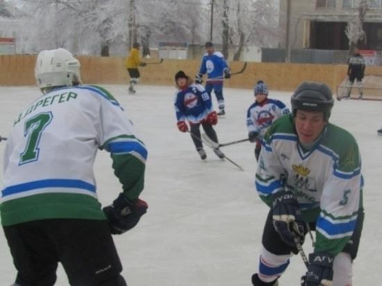 Камышинские гвардейцы-десантники открыли хоккейный сезон