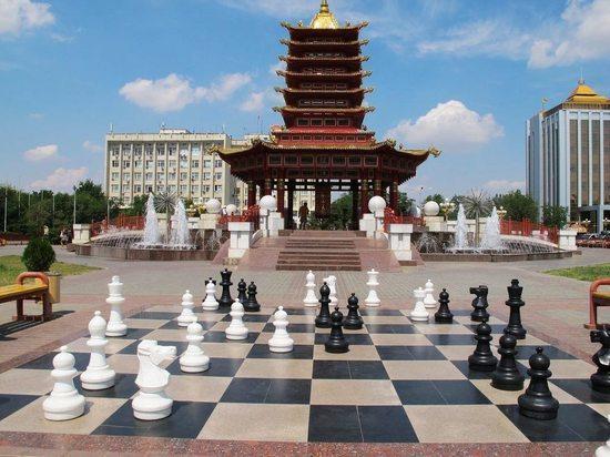 Одной из главных фишек калмыцкой столицы является Сити чесс