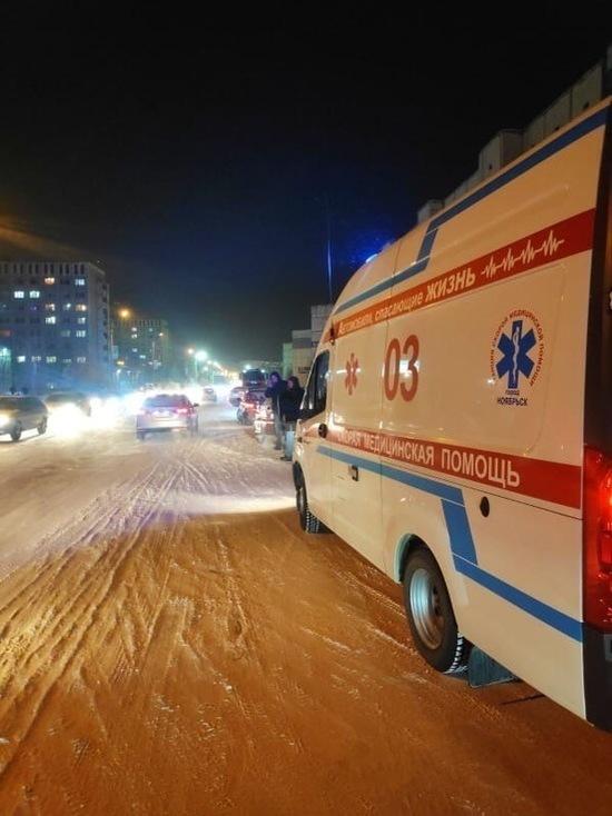 Сбитая на проспекте Мира в Ноябрьске женщина скончалась