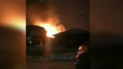 В Тюменской области сгорел нелегальный дом престарелых