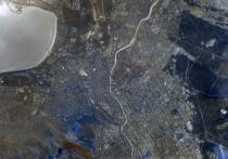 Космонавт опубликовал очередное фото Читы с МКС