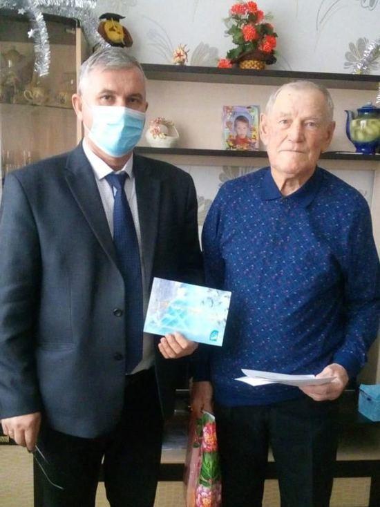 Житель Волжского района получил поздравление от Владимира Путина