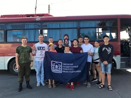 Тамбовские школьники заняли призовое место в соревнованиях по туризму