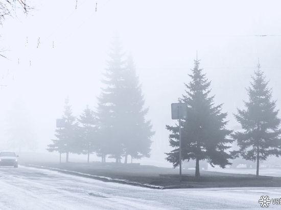 Кузбасских автомобилистов предупреждают о сильных снегопадах