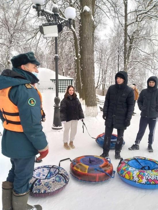 Ивановские спасатели убедились в безопасности «ватрушечников» и рыбаков