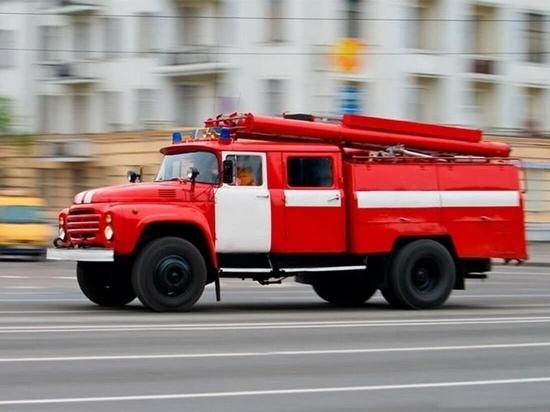 В Иванове потушили пожар на строительстве госпиталя
