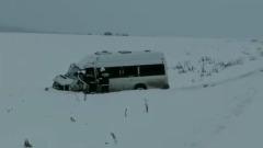 В Башкирии столкнулись два микроавтобуса: погибли дети