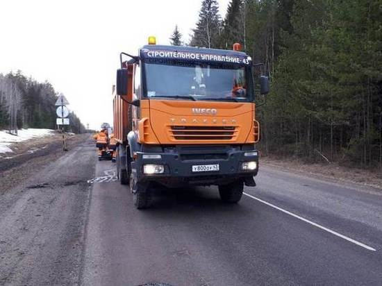 В Кировской области более 173 миллионов потратят на ремонт дорог