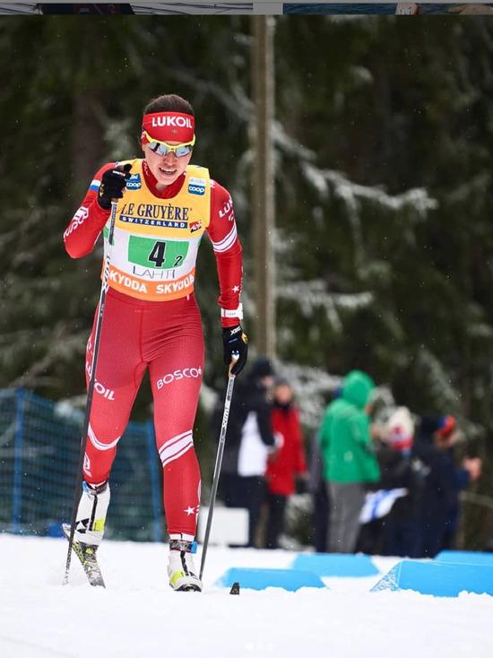Бурятская лыжница упала на последнем старте мировой гонки