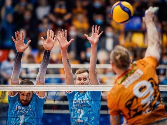 """Волейболисты """"Кузбасса"""" уверенно обыграли казанского соперника в первом домашнем матче 2021 года"""