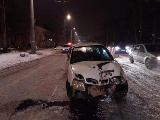 Омичка с тремя детьми попала в серьезную аварию