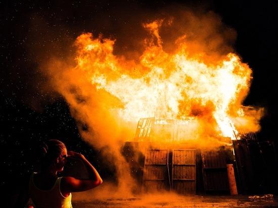 За новогодние праздники на пожарах погибли 8 забайкальцев