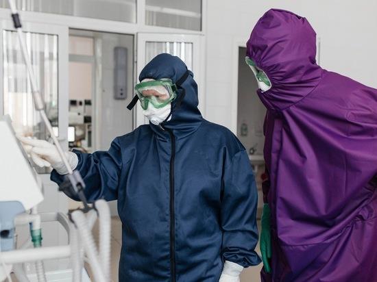 В Рязанской области 72 пациента с коронавирусом находятся в тяжёлом состоянии