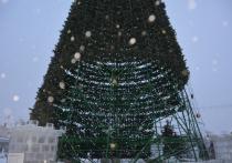 Украшения, декорации и 32-метровую ель начнут убирать в пятницу, 15 января
