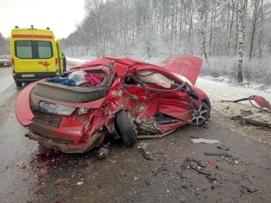Пассажир «Хонда Цивик» погиб в ДТП в Рязанской области